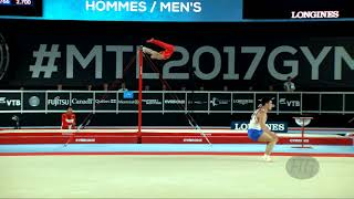 NAGORNYY Nikita (RUS) - 2017 Artistic Worlds, Montréal (CAN) - Qualifications Floor Exercise