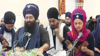 Waheguru Simran - Bhai Navreet Singh Ji @ Akhand Jaap 1MAR2014 [HD]