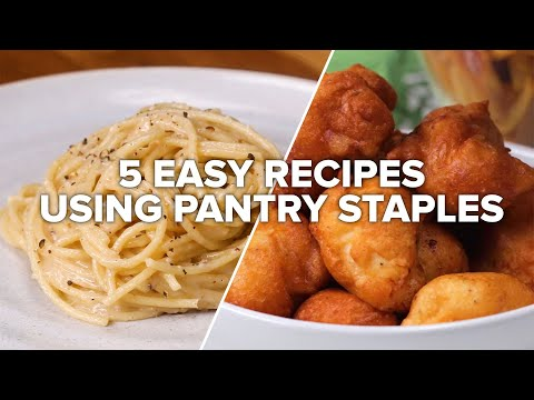 5 Easy Recipes Using Pantry Staples • Tasty Recipes