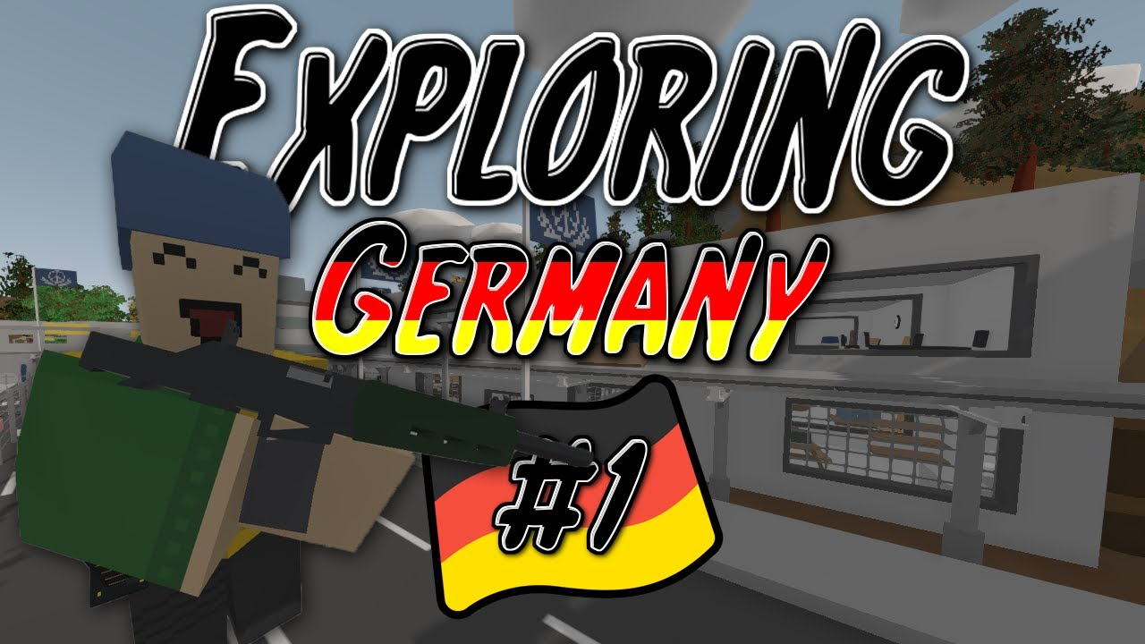 UNTURNED EXPLORING GERMANY BERLIN YouTube - Berlin map unturned