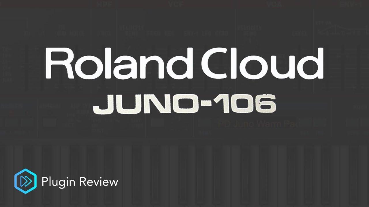 Roland Cloud Juno 106 | Plugin Review