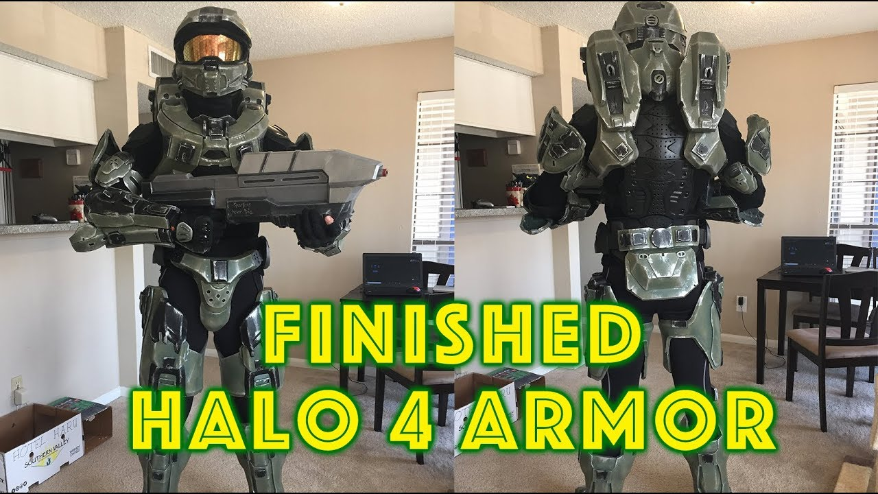 Angelegend's Halo 4 Armor Breakdown