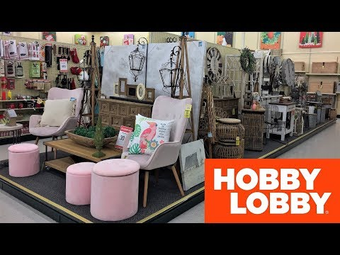 HOBBY LOBBY SPRING FURNITURE CHAIRS TABLES HOME DECOR SHOP WITH ME SHOPPING STORE WALK THROUGH 4K