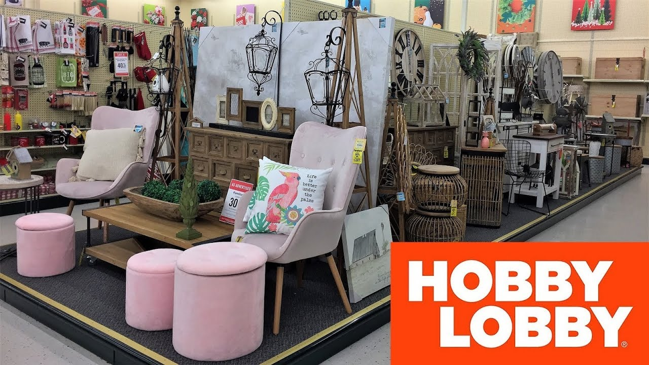 Hobby Lobby Spring Furniture Chairs Tables Home Decor Shop With Me