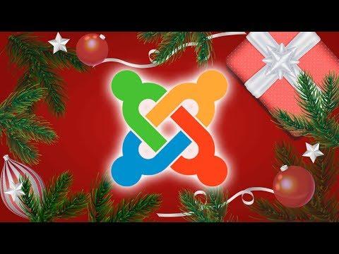 Украшаем сайт на Joomla в Новый год / SJ Xmas