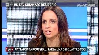 Enrica Sabatini (M5S) a Agorà 7/3/2018