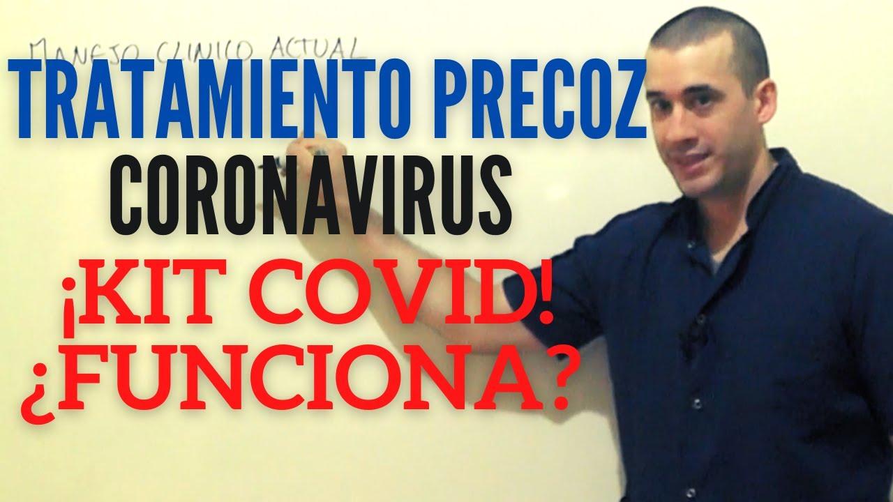 TRATAMIENTO en FASE 1 CORONAVIRUS   KIT PARA TERAPIA PRECOZ COVID 19 Dr Veller