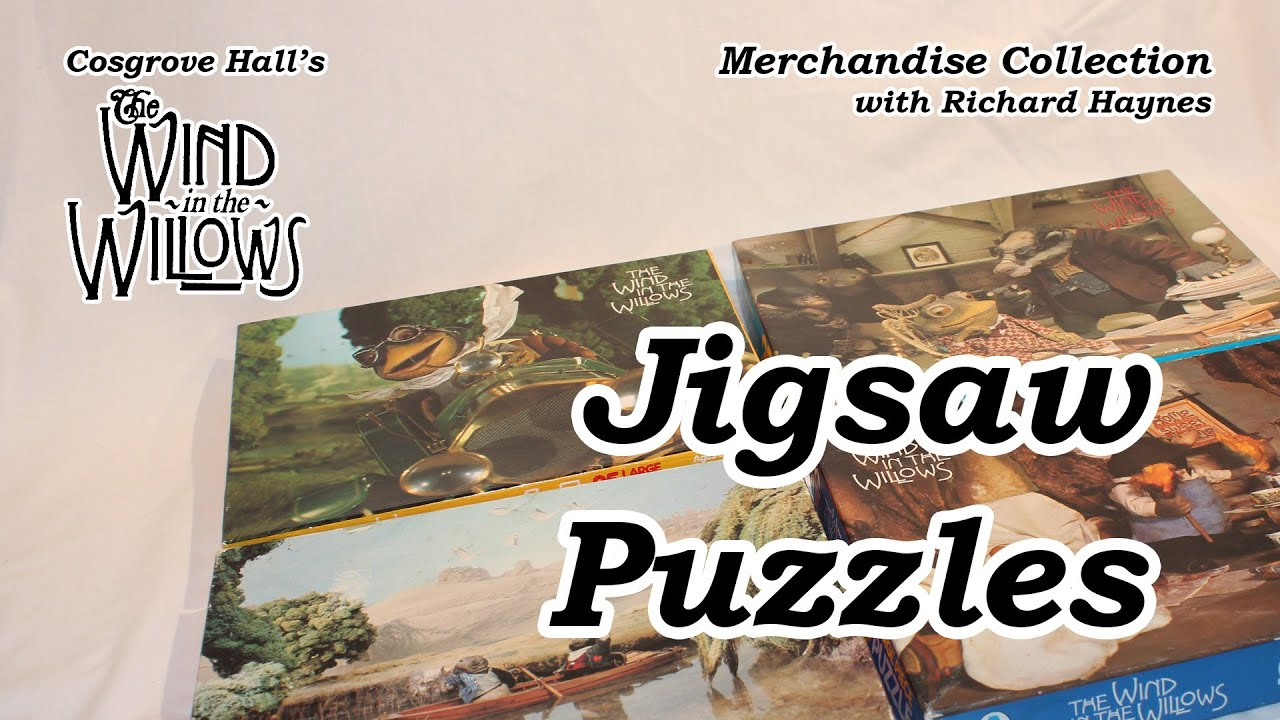 Jigsaw Puzzles (Merchandise of Cosgrove Hall's 'The Wind in the Willows')