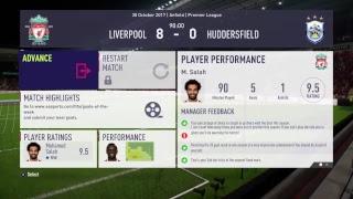 FIFA 18 Mo Salah Player Career