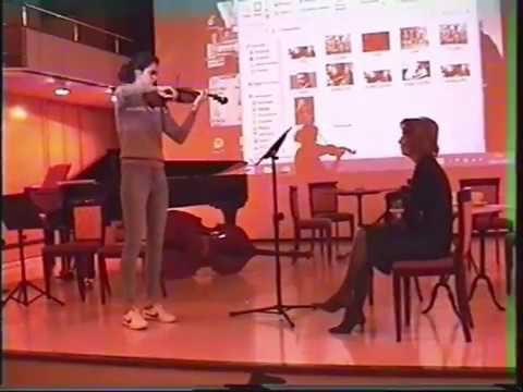 Master class / Real Conservatorio Superior de Musica de Madrid