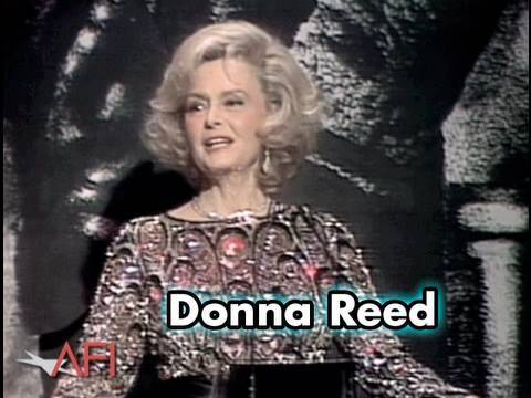 Donna Reed Salutes Frank Capra at the AFI Life Achievement Award