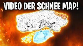 ERSTES VIDEO DER SCHNEE MAP! ❄️😍 | Fortnite: Battle Royale