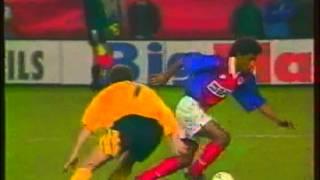 1994 April 13 Arsenal England 1 Paris St Germain France 0 Cup Winners Cup