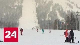 видео Зимние курорты России