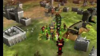 Saga MMORTS Battle Footage