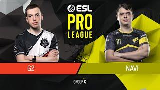 CS:GO - Natus Vincere vs. G2 Esports [Train] Map 2 - Group C - ESL Pro League Season 9 Europe