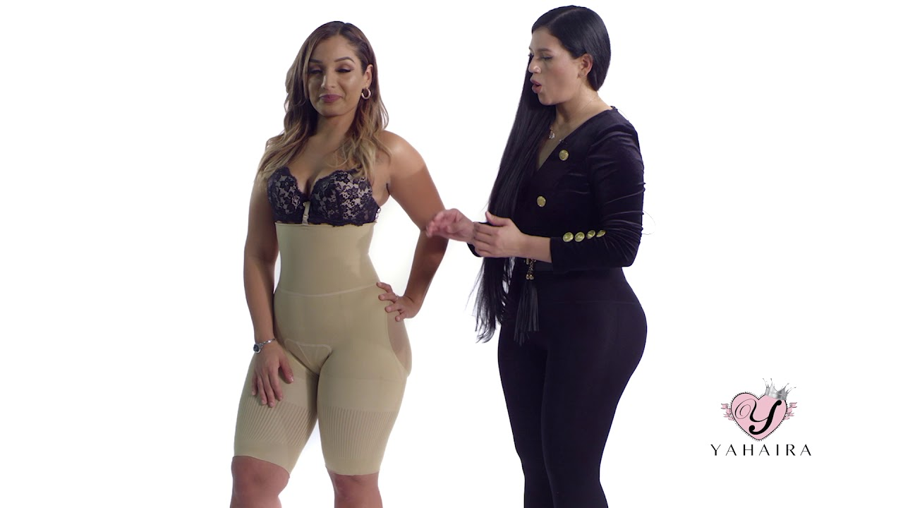 d8c18abe58 Yahaira The best body shaper review - YouTube