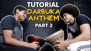 DARBUKA ANTHEM PART 2/3 I TUTORIAL by ALI KRIBO