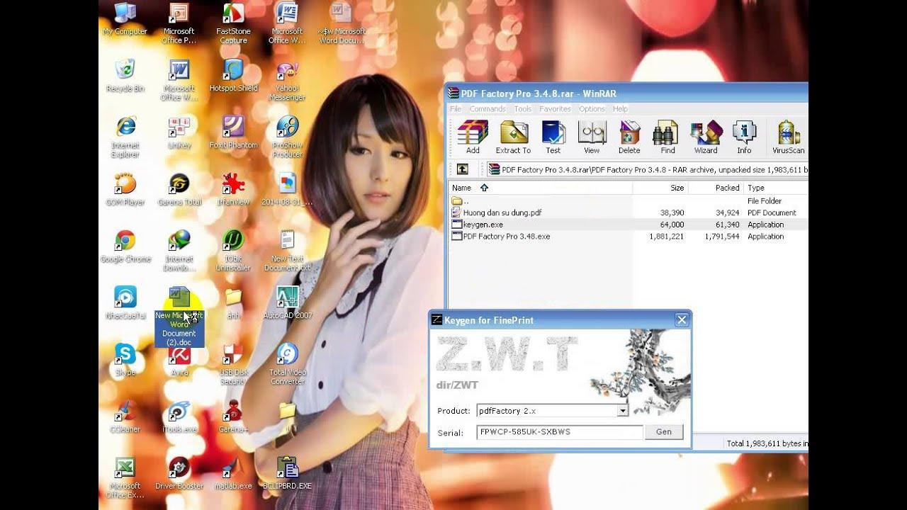 PDF Factory Pro – phần mềm tạo file PDF có chất lượng và bảo mật cao