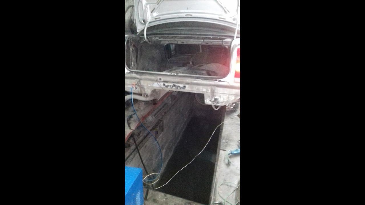 Как снять передний бампер с Opel Astra G - YouTube