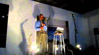 Roscoe Mitchell solo saxophone, live at KRAAKfestival, Belgium, 2012-03-03 [part4/5]