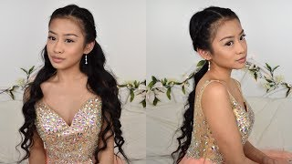 2-in-1 Prom Hairstyle | Gvvyneth