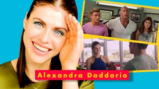 Alexandra Daddario Relives Her On-Screen Kiss with Lady Gaga | Breakdown Breakdown
