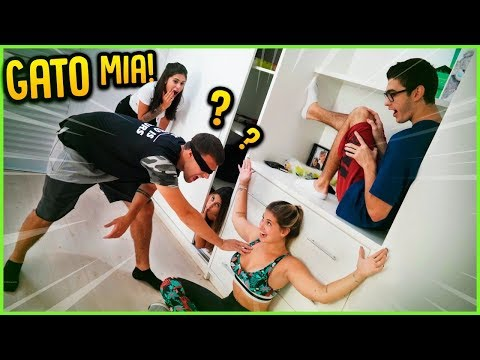 GATO MIA NO QUARTO!! ( NOVO MINI GAME ) [ REZENDE EVIL ]