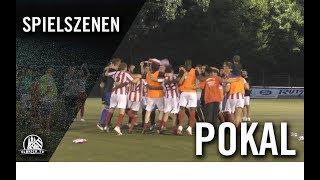 Oststeinbeker SV – Meiendorfer SV (2. Runde, Pokal)
