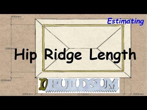 Hip Roof Ridge Length