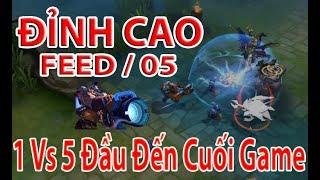 Siêu Phẩm Feed 0 -5 Trận Đấu 1 VS 5 Từ Đầu Đến Cuối Game Đỉnh Cao Xạ Thủ Moren