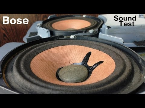 Bose Car Stock Speakers Sound Test. #2