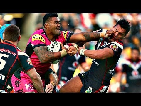 Make Your Own Hd Wallpaper Rugby Nrl Biggest Hits Of 2013 Youtube