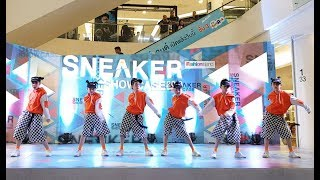 The Kids ชนะรองอันดับ 2 @ Sneaker Showcase 2018 Fashion Island