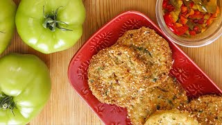 Rachael's Italian Fried Green Tomatoes