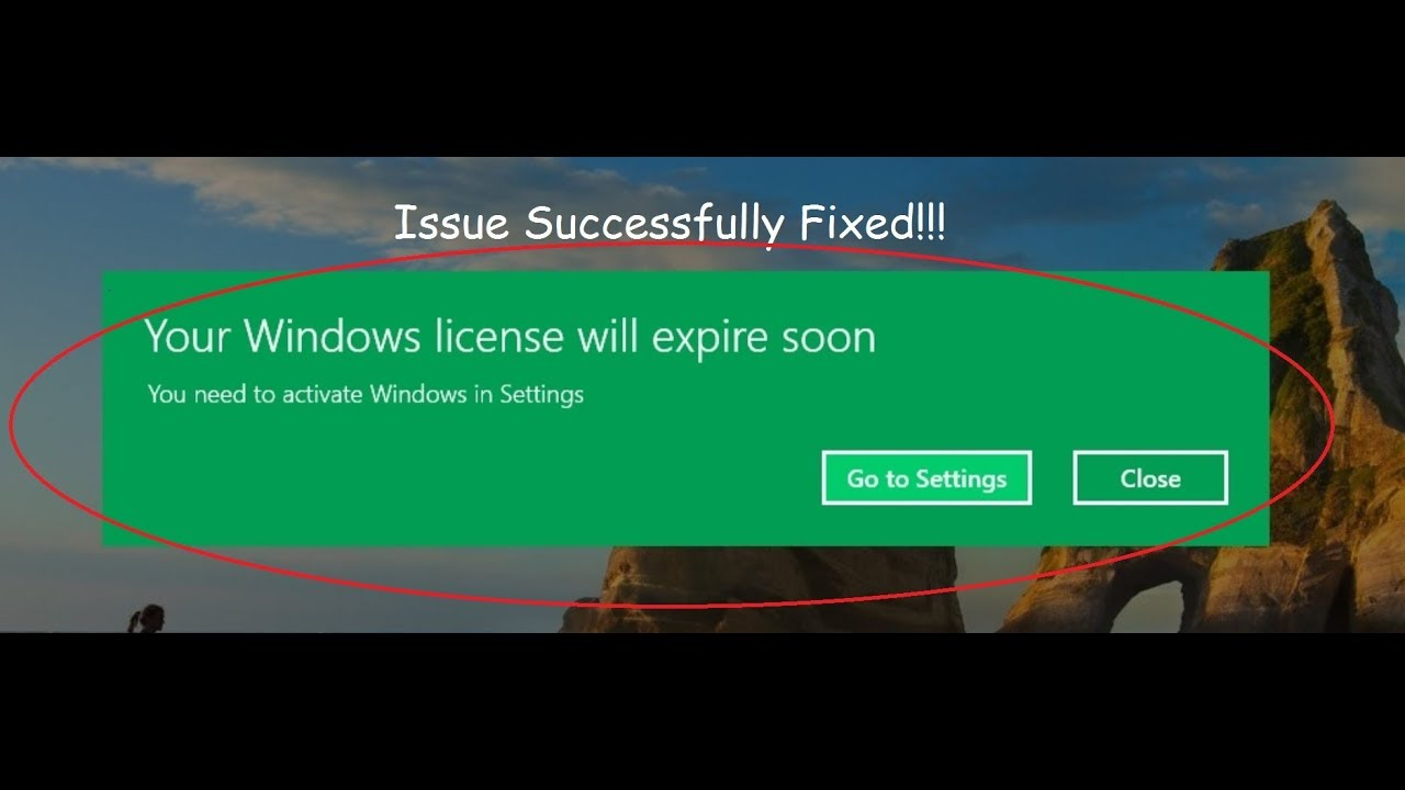 error setting up player expired license key