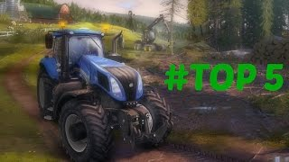 Top 5 - Farm Simulating Games EVER - [My opinion]