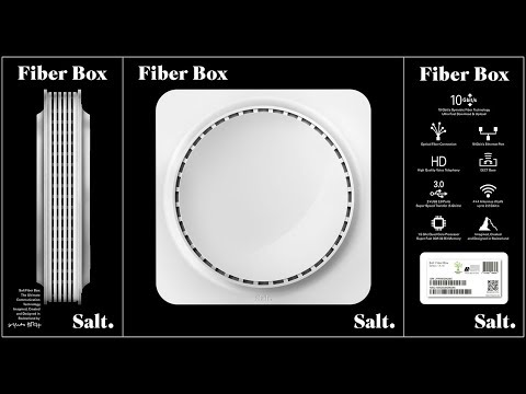 Salt Fiber: Teil 1 - Salt Fiber Box & eigener Router/Firewall