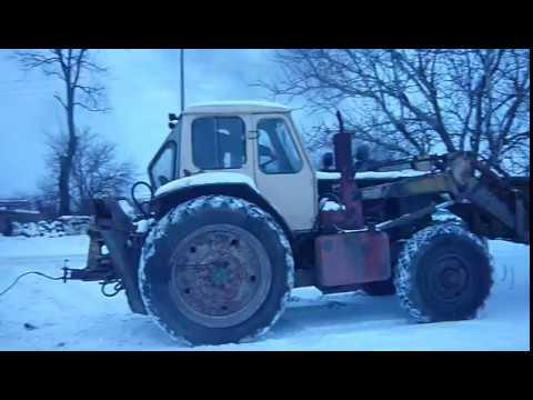 Грязь Мтз - 82.1 и Мтз - 1221 В + Камазовский прицеп - YouTube
