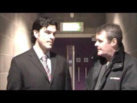 David Matsos Pre-Game Interview - Devils, 10/01/2009