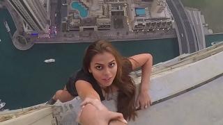 В Дубае модель Виктория Одинцова рисковала жизнью ради лайков
