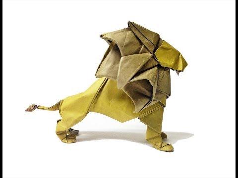 Origami Lion ( beth johnson )