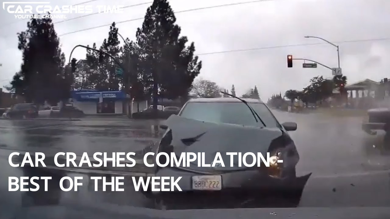 Car Crashes Compilation Best Of The Week Youtube