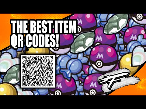 BEST ITEM QR CODES! - FOR POKÉMON XY AND ORAS