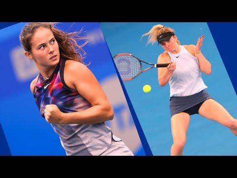 Daria Kasatkina  vs Elina Svitolina  DUBAI 2018 BEST HD Highlights