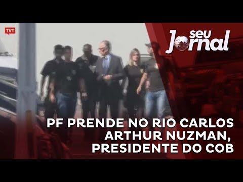 PF prende no Rio Carlos Arthur Nuzman, presidente do COB