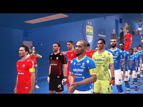 PERSIB Vs PERSIJA - Gojek Liga 1 2018 Super Big Match | PES 2017