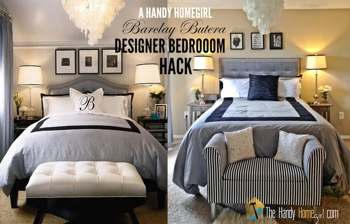 designer master bedroom hack decorating on a budget i ep 18608 | maxresdefault