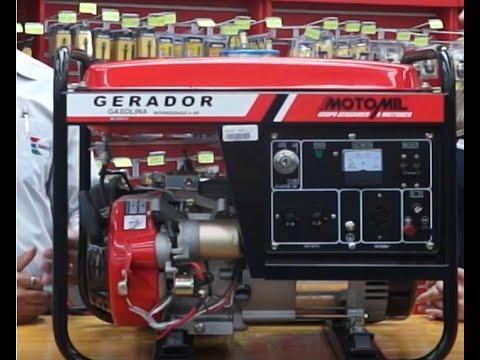 e7c2b35fed4 Motomil - Gerador de energia à Gasolina MG-3000CLE - YouTube