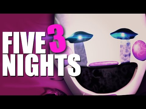 TODOS HAN VUELTO | Five Nights at Freddy's 3 - Noche 2, 3 y 4